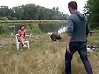 Raunchy Nubile Nikita Has Her Beaver Slammed