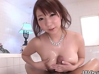 Katsuragi Yuni Naked And Oiled For Fuck-fest