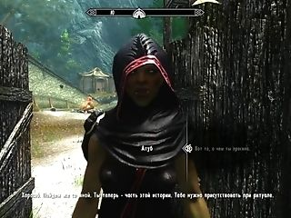 Tes5 Skyrim My Own Mod Build Gameplay With Half-naked Orc Doll: Volendrung
