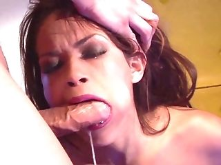 Amazing Figure Dark Haired Daisy Marie Gets Penalized By Thick Trouser Snake