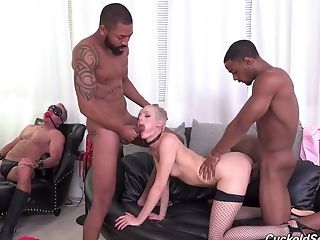 Sidra Sage Is A Mistress Who Hungers More Than One Dick At Once