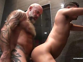 Nate Pierce And Cesar Bathroom Fucking