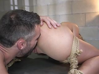 Bombshell Blonde Stunner Carmen Caliente Pounded And Creampied In Jail