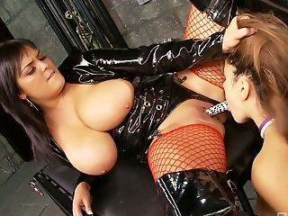 Giant Boobed Hoe Jasmine Black Is Glad To Eat And Masturbate Raw Labia