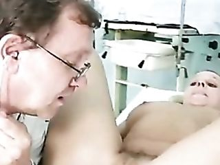 Medic Gives Her A Thorough Cooter Check-up