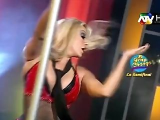 """Shirley Cherres """"ex Porrista Del Boys"""" (baile Del Tubo En Magaly Tv)"""