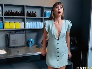 Petite Skinny Hoe Riley Reid Rear End Pounded Hard Leaned Over The Table