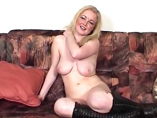 Norwegian Blonde Gets Trimmed Labia Fucked