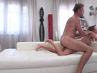 Hard-core Blowage And An Donk Fuck With Trampy Candice X