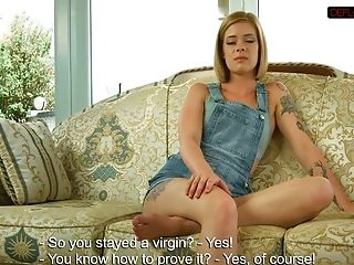 Hot Nubile Alexa Confims Virginity
