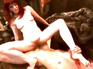 The Red-haired's Feet - Nubile Woman Porno