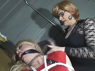 Crossdresser Restraint Bondage