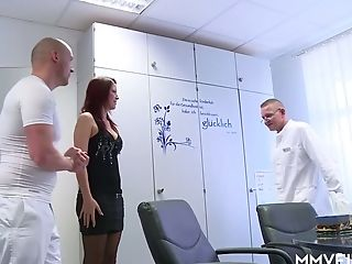 Two Perverted Gynecologists Fuck Hump-appeal Patient Natalie Hot