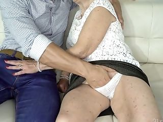 Matures Sex-positive Housewife Malya Is Poked Rear End After Providing A Decent Deep Throat