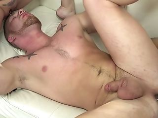 Two Bisexual Dudes Fuck Each Other And Drill Mouth And Snatch Of Juggy Whore Kiki Daire