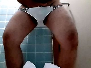 Crossdresser Masturbate In Sweet Panty