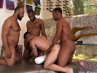 Gay video group interracial