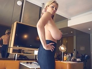 Kelly Madison Loves Bouncing On Her Stallion's Boner