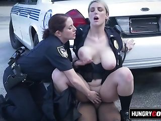 Hotness Housewife Cops Are Looking For A Big Black Penis