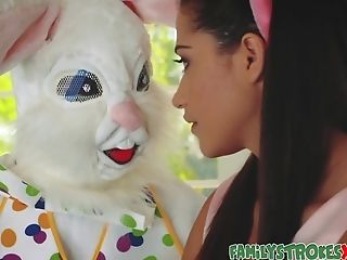 Easter Bunny Fucks Horny Teenage