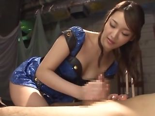 Wakana Nao Offers The Best Tugjob And Oral Job Before Good Romp