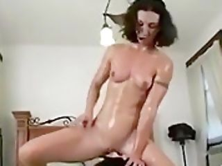 Hot Whore Railing A Fucking Machine And Ejaculating