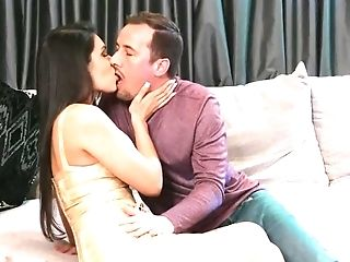 Gorgeous Dark Haired Wants His Massive Dick Inwards Her