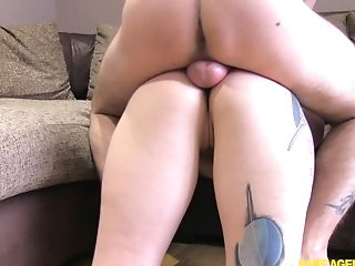 Big Butt Unexperienced Taped When Railing Dick Like A Pro