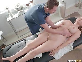 Pallid Blonde Cougar Honey Julia Ann Opens Broad For A Cum Shot In Mouth