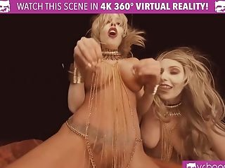 Two Hot Blonde Honies Fucking Hard. These Hot Martian Honies Will Pleasure You Just Right.