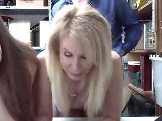 Matures And Nubile Whores Pounded Hard At An Office For Torment