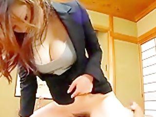 Greatest Japanese Whore Risa Arisawa In Best Facesit, Female Dom Jav Scene