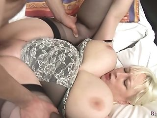 Bbw Jo Juggs Gets Her Big Tits And Cunt Fucked