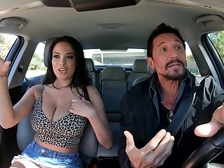 Pornographic Star Bombshell Latina Anissa Kate Gets Jizm On Her Big Tits