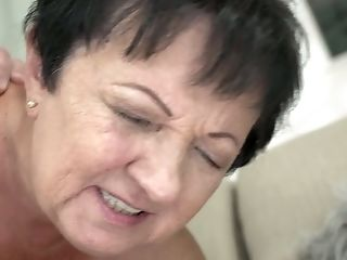 Brief Haired Matures Old Bitch Hettie Is Fucked Rear End And Missionary Hard