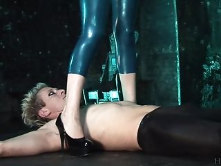 Two Dudes With Lengthy Schlongs Penetrate Syren Sexton Wearing Spandex