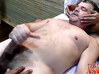Horny Dude Gets Fucked By Two Asian Guys After Hot Rubdown