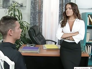 Sexy Manager Mila Marx Turns This Stud Into Her Intimate Lovemaking Tool