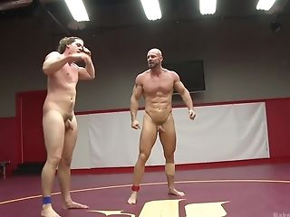 Mitch Vaughn And His Homo Playmate Want To Fuck After The Fight Match