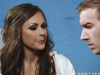 Tina Kay Adores When Her Bf Jizm On Her Tits After Fucky-fucky