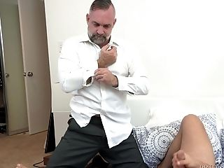 Nubile Faggot Dude Gets His Trouser Snake Sucked And Fucks An Bootie Of An Older Fellow