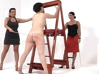 One Top Hoe Loves Spanking Other Obedient Female Gimps