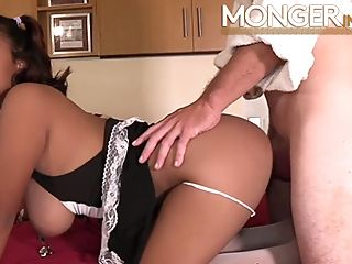 Filipina Teenage With Enormous Natural Tits Fucks Her Fresh Manager