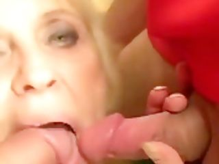 Granny Fucked By Football Admirers