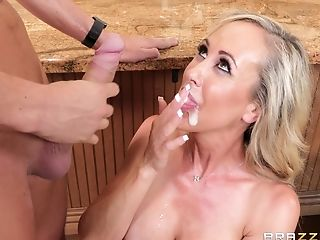 Brandi Love Is A Big-boobed Housewife Who Is Ready For A Dick
