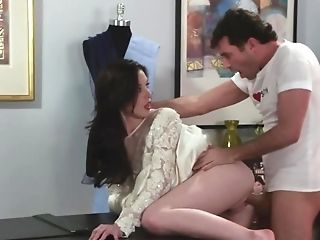 Whorish Bride Is Being Fucked Moments Before Wedding