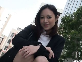 Fucky-fucky-starved Asian Assistant Ritsuko Tachibana Is Masturbating Her Cooch In The Office