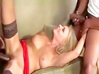 blacks on blondes orgy