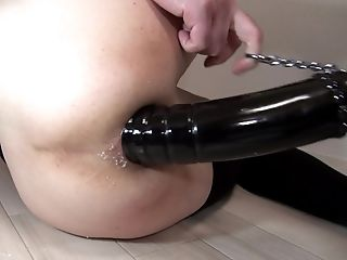 Magnum-08-d  The Fuck-hole After 60mm Fake Penis Insert