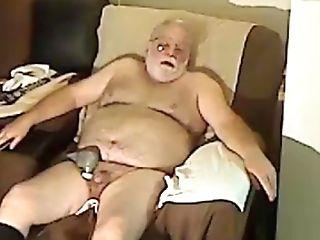 Grand-pa Spunk On Webcam